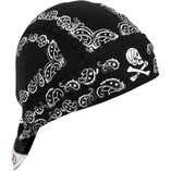Zan Headgear Black Paisley
