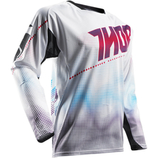 Thor Fuse Air Lit S7 Jersey White/Red