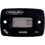 Resettable hour meter/tachometer