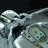 XV1900 Liner Pullback Risers Chrome