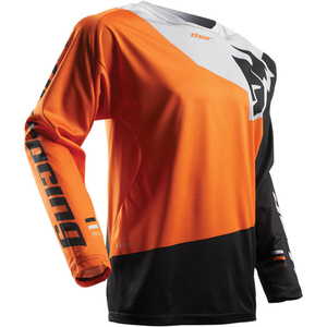 Thor Fuse Pinin S7 Jersey Orange/Black