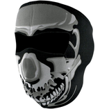Zan Headgear helmask Chrome Skull