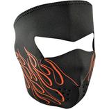 Zan Headgear helmask Orange Flame