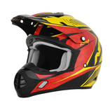 AFX FX-17  Factor Pearl Black/Red/Yellow